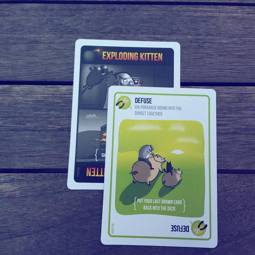 Cardgames Exploding Kittens Blog